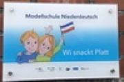 Auszeichnung zur Modellschule Niederdeutsch